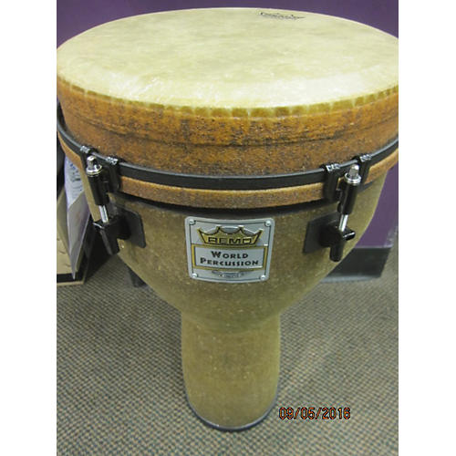 Remo 11X13 Designer Series Key-tuned Djembe Earth Model Drum