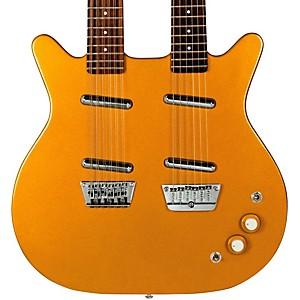 Danelectro 12/6 Doubleneck Semi-Hollow Electric Guitar with Gig Bag