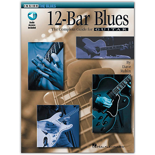 Hal Leonard 12-Bar Blues (Book/Online Audio)-thumbnail