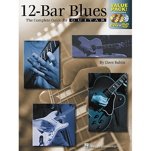 Hal Leonard 12-Bar Blues Guitar: The Complete Guide for Guitar Value Pack (Book/2 CDs/ 1 DVD)-thumbnail