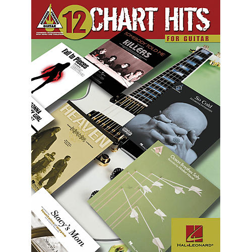 Hal Leonard 12 Chart Hits for Guitar Book