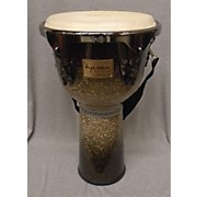 "Tycoon Percussion 12"" Master Platinum Fade Djembe"
