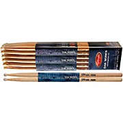 12-PAIR OAK DRUM STICKS Nylon Tip 5AN
