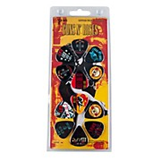 Perri's 12 Pack Of Guns N Roses Guitar Picks - Med Gauge - Celluloid Plastic