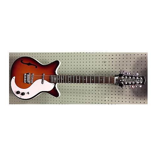used danelectro 12 string hollow body electric guitar 2 tone sunburst guitar center. Black Bedroom Furniture Sets. Home Design Ideas