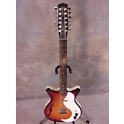 Danelectro 12 STRING SEMI HOLLOW Hollow Body Electric Guitar