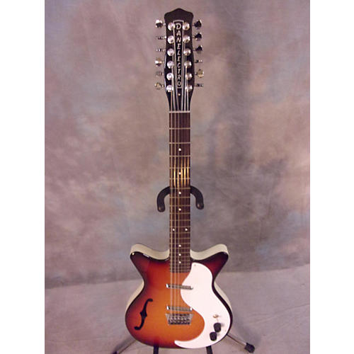 Danelectro 12 STRING SEMI HOLLOW Hollow Body Electric Guitar