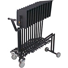 Hercules Stands 12-Stand Cart Level 1 Black