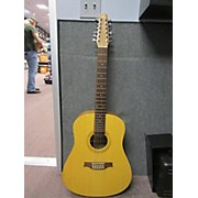 Seagull 12 Walnut Isyst 12 String Acoustic Guitar