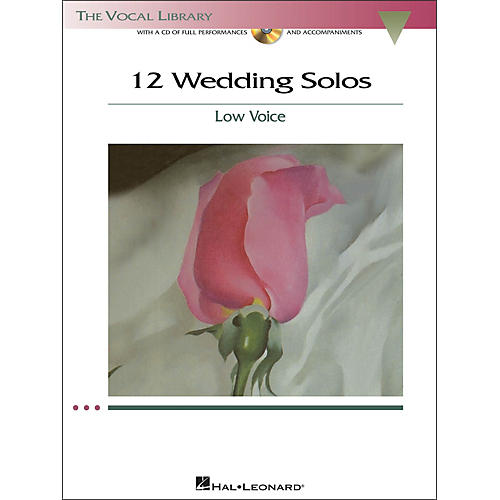 Hal Leonard 12 Wedding Solos for Low Voice (The Vocal Library Series) Book/CD-thumbnail