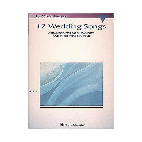 Hal Leonard 12 Wedding Songs Piano/Vocal/Guitar Songbook-thumbnail