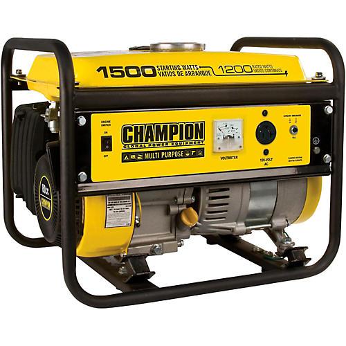 Champion Power Equipment 1200/1500 Watt Portable Gas-Powered Generator
