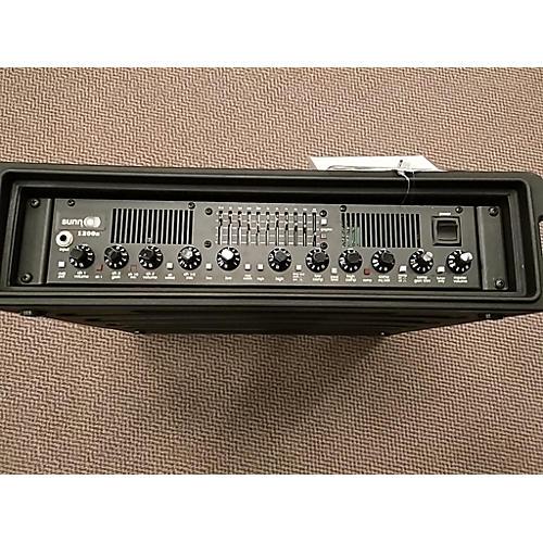 Sunn 1200S Bass Amp Head
