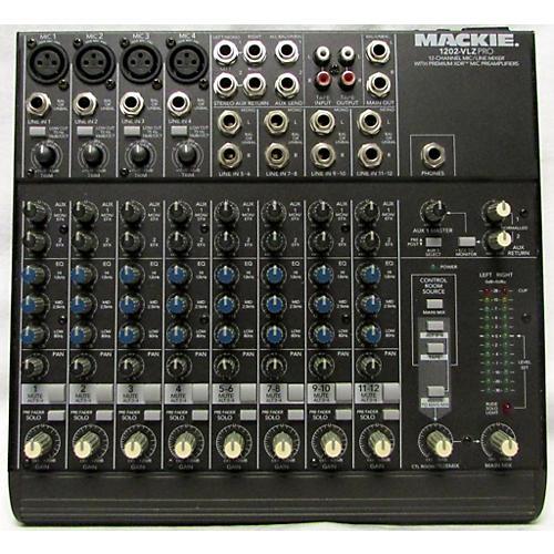 Mackie 1202VLZ Pro Unpowered Mixer-thumbnail