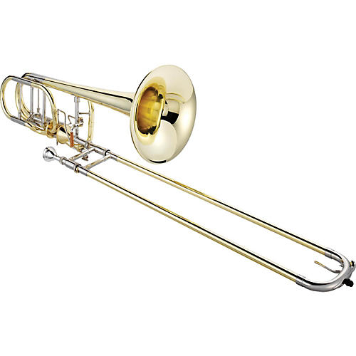 XO 1240 Professional Series Bass Trombone with Thru-Flo Valve-thumbnail