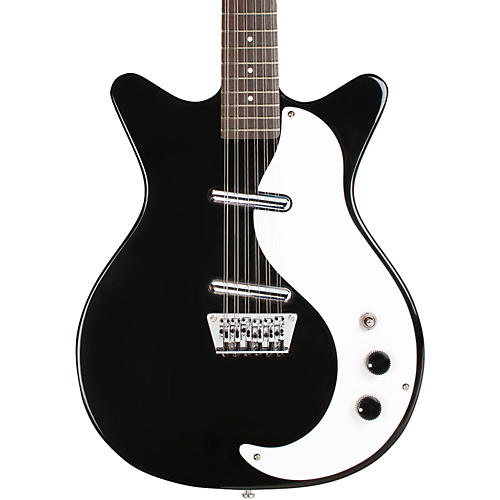 Danelectro 12SDC 12-String Electric Guitar Black