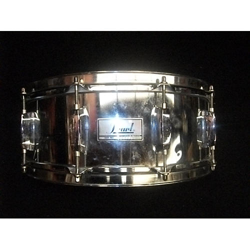Pearl 12X14 SNARE Drum Metallic Silver 108