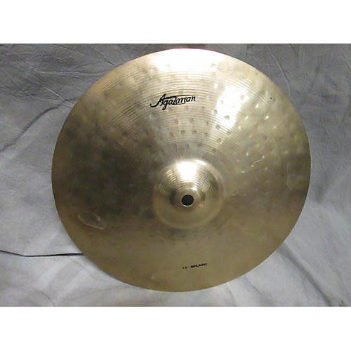 Agazarian 12in 12in Splash Cymbal