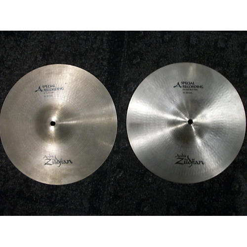 Zildjian 12in A Series Spec Rec Hi Hat Pair Cymbal-thumbnail