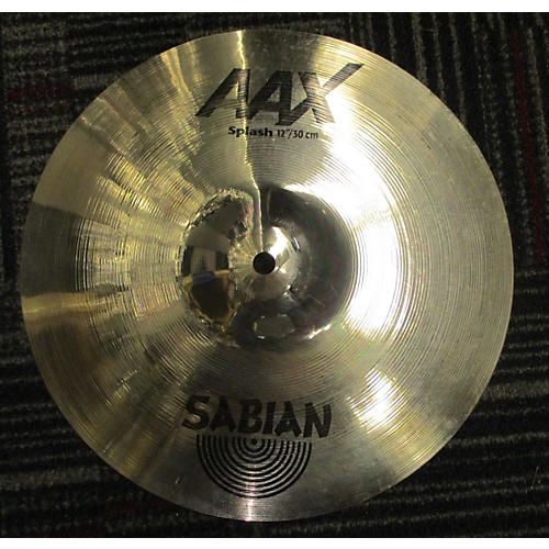 Sabian 12in AAX Splash Brilliant Cymbal