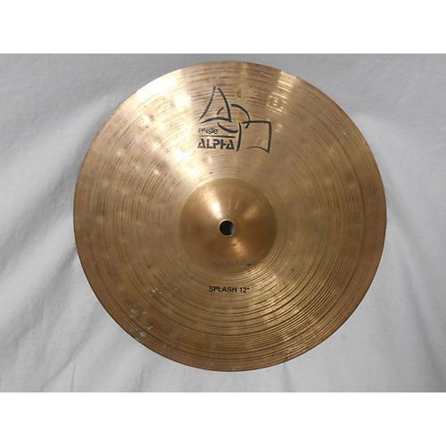 Paiste 12in Alpha Thin Splash Cymbal-thumbnail