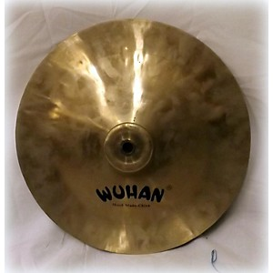 Pre-owned Wuhan 12 inch China Crash Cymbal by Wuhan