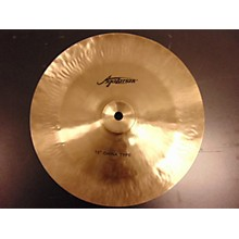 Agazarian 12in China Type Cymbal