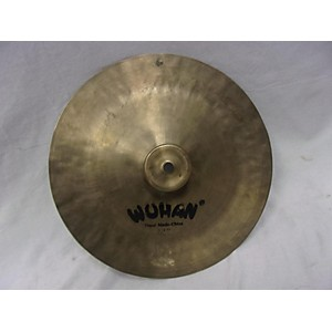 Pre-owned Wuhan 12 inch Hand Made China 12 inch Cymbal by Wuhan