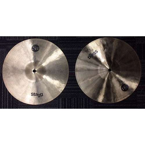 Stagg 12in MEDIUM HI HATS Cymbal