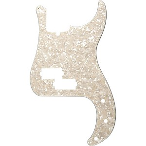 Fender 13 Hole Standard P Bass Pickguard Aged White Pearl by Fender
