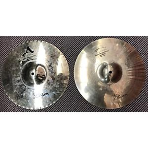 Pre-owned Zildjian 13.25 inch A Custom Mastersound Hi Hat Pair Cymbal by Zildjian
