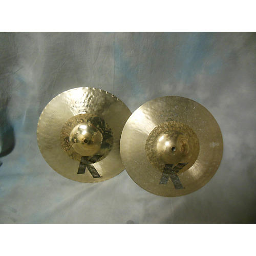 Zildjian 13.25in K Custom Hybrid Hi Hat Pair Cymbal-thumbnail