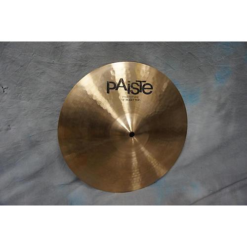 Paiste 13in 2K2 Prototype Hi Hat Top Cymbal