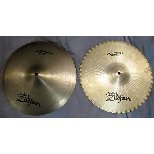 Zildjian 13in A Mastersound Hi Hat Pair Cymbal-thumbnail