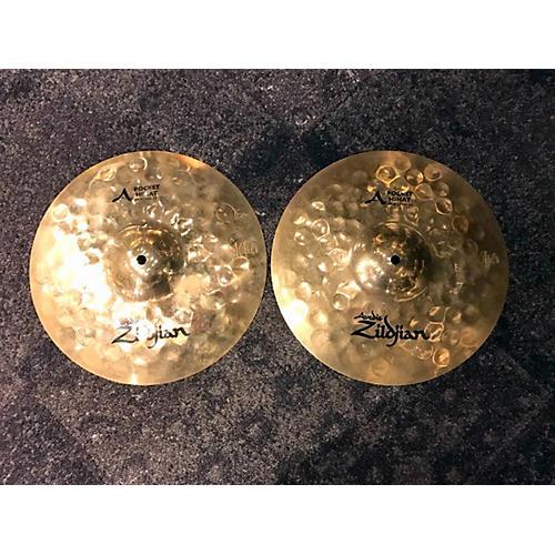 Zildjian 13in A Series Pocket Hi Hat Pair Cymbal-thumbnail