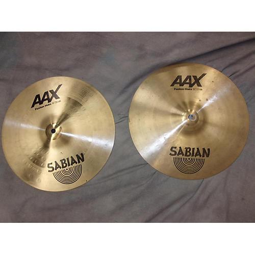 Sabian 13in AAX Fusion Hi Hat Pair Cymbal