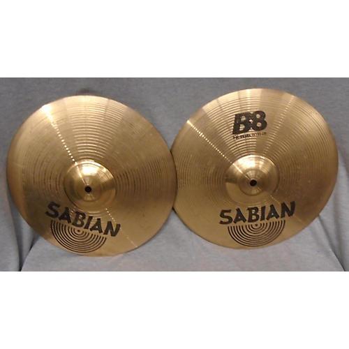Sabian 13in B8 Hi Hat Pair Cymbal