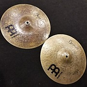 Meinl 13in Byzance Dark Hi Hat Pair Cymbal