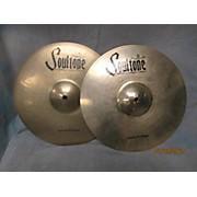 """Soultone 13in Custom Brilliant 13"""" Hi-Hat Pair Cymbal"""