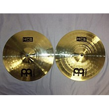 Meinl 13in HCS Hi Hat Pair Cymbal