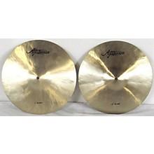 Agazarian 13in HI-HAT PAIR Cymbal