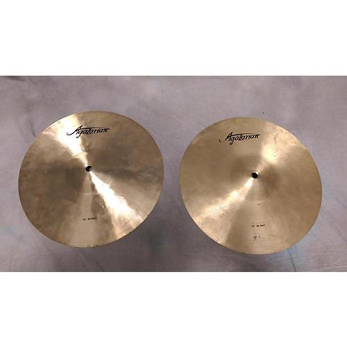 Agazarian 13in Hi Hat Cymbal-thumbnail