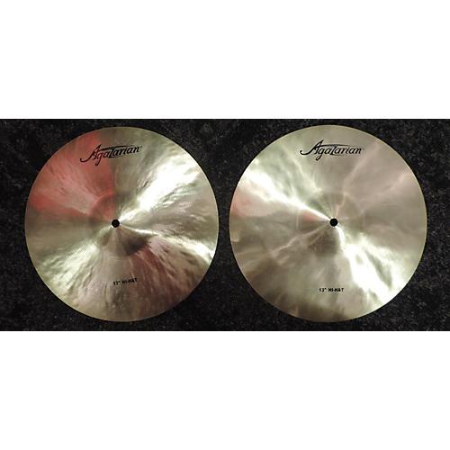 Agazarian 13in Hi Hats Cymbal-thumbnail