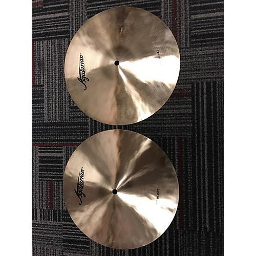Agazarian 13in High Hat Pair Cymbal