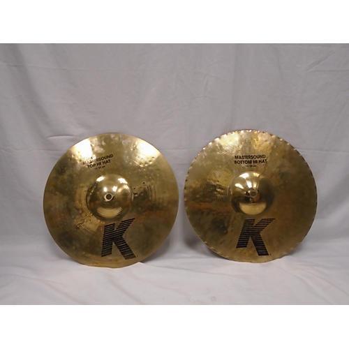 Zildjian 13in K Mastersound Hi Hats Pair Cymbal