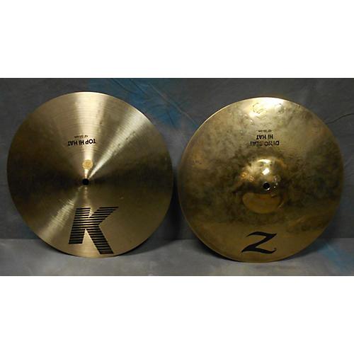 Zildjian 13in K/Z DYNO HI HATS Cymbal