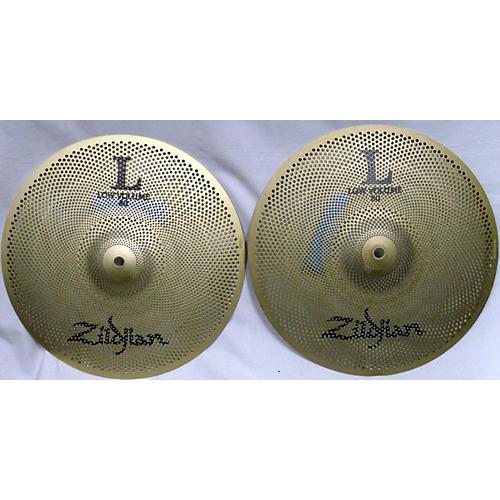 used zildjian 13in low volume 13 hi hat cymbal guitar center. Black Bedroom Furniture Sets. Home Design Ideas