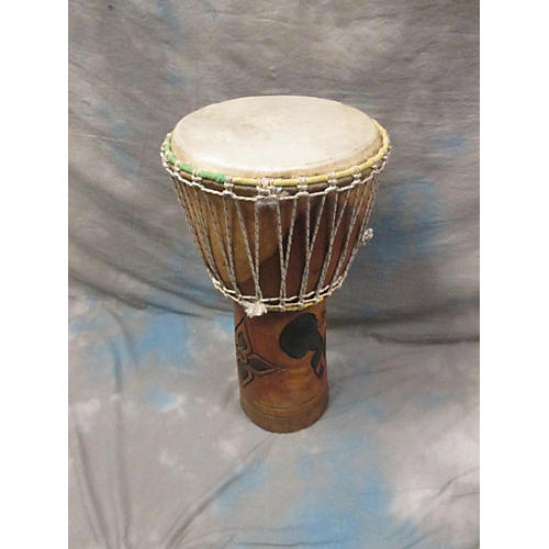 Overseas Connection 13in Mahogany Djembe-thumbnail