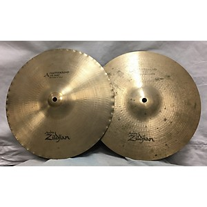Pre-owned Zildjian 13 inch Mastersound Hi Hat Pair Cymbal by Zildjian