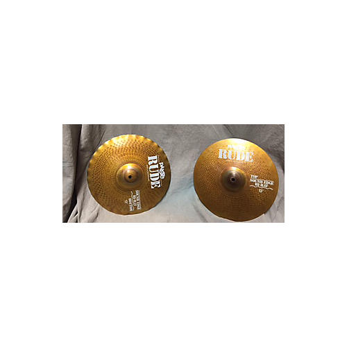 Paiste 13in Rude Hi Hat Pair Cymbal-thumbnail